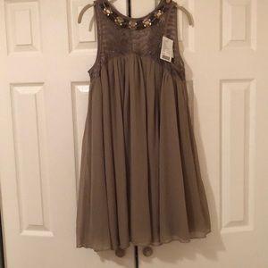 Beaded Anthropologie Dress
